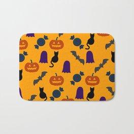 Halloween Pattern YE Bath Mat