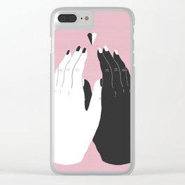 Marjanne Mars x Anna Bulbrook Clear iPhone Case
