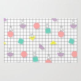 Bunny Grid Rug