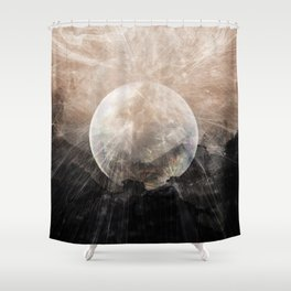 Planetary Soul Grace Shower Curtain