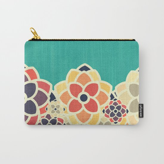 Spring Garden Carry-All Pouch
