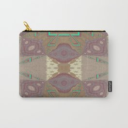 Pallid Minty Pattern 7 Carry-All Pouch