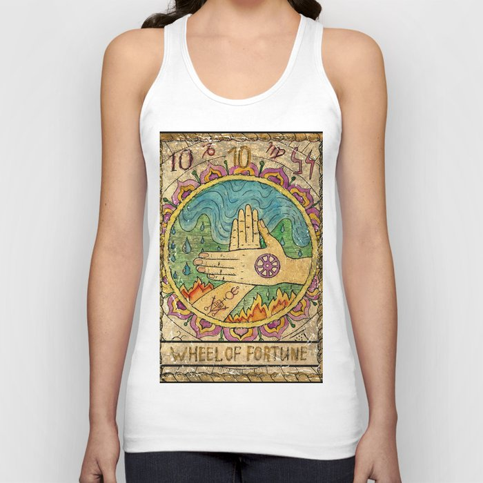 Wheel of fortune Unisex Tanktop