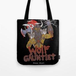 Wolf Gauntlet Tote Bag