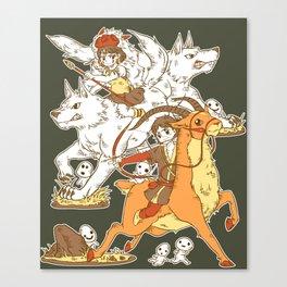 Forest Warriors Canvas Print