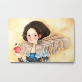 Princess series_Snow White Metal Print