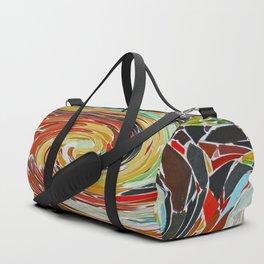 Surreal mosaic Duffle Bag