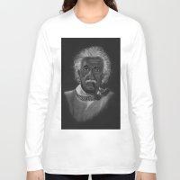 einstein Long Sleeve T-shirts featuring Einstein by Paula Leão