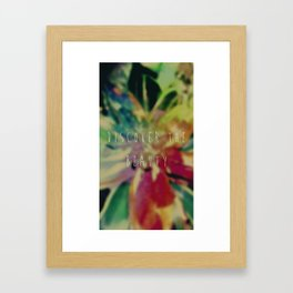 Discover the Beauty Framed Art Print