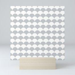 Light Fan Shell Pattern Mini Art Print
