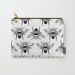 Floral Bees Carry-All Pouch