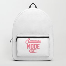 Summer Mode ON pw Backpack