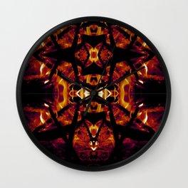 Eye of Fire Wall Clock