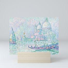 """Paul Signac """"Venise. La Salute Vert"""" Mini Art Print"""
