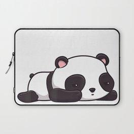 Don't Talk To Me Kawaii Panda Bear T-Shirt Laptop Sleeve