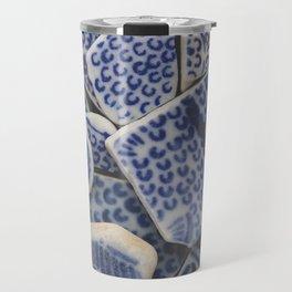Japanese Sea pottery - Collection II Travel Mug