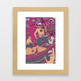Aquabats Framed Art Print