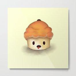 Carrot Cupcake Metal Print