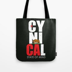 CyniCAl - white Tote Bag