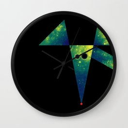 Mouse, Exploring Space Wall Clock