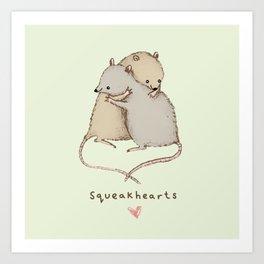 Squeakhearts Kunstdrucke