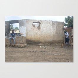 Africa Shape Wall (Arusha, Tanzania)  Canvas Print