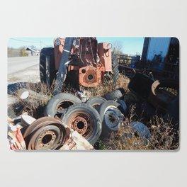 Round Wheel Rim Rot Cutting Board