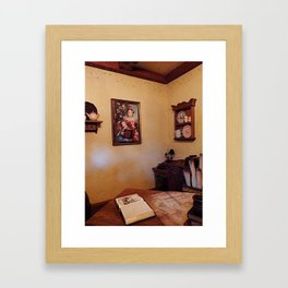 MAGIC KINGDOM: Inside Belle's Cottage Framed Art Print