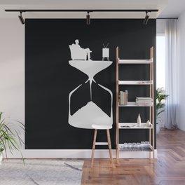 Hourglass Wall Mural