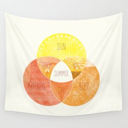 Venn it's Summer! Wall Tapestry