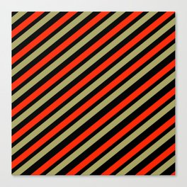 TEAM COLORS 1…red,gold black Canvas Print