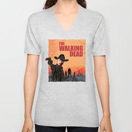 Rick Grimes - The Walking Dead Unisex V-Neck