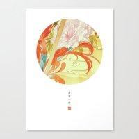 oriental Canvas Prints featuring Oriental by Tao Hua Wu Oriental Art