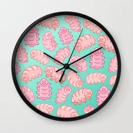 Squishy Tardigrades Wall Clock