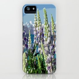 Lupinien iPhone Case