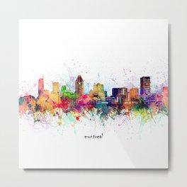 montreal skyline artistic Metal Print