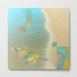 quicksand: divine symmetry IV  Metal Print