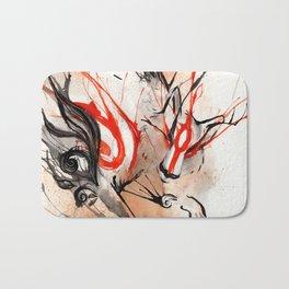 Okami Amaterasu Ink Bath Mat