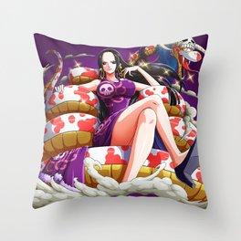 Boa Hancock - ONe piece Throw Pillow