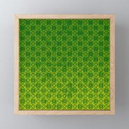 D20 Druid Ranger Crit Pattern Premium Framed Mini Art Print