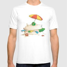 Sandwich Mens Fitted Tee White MEDIUM