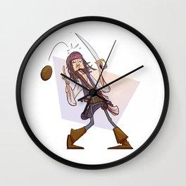 Coconut Jack Wall Clock