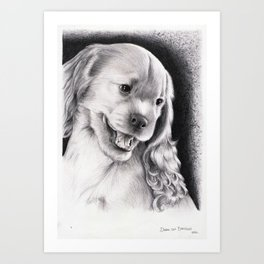 PUPPY - CACHORRO Art Print