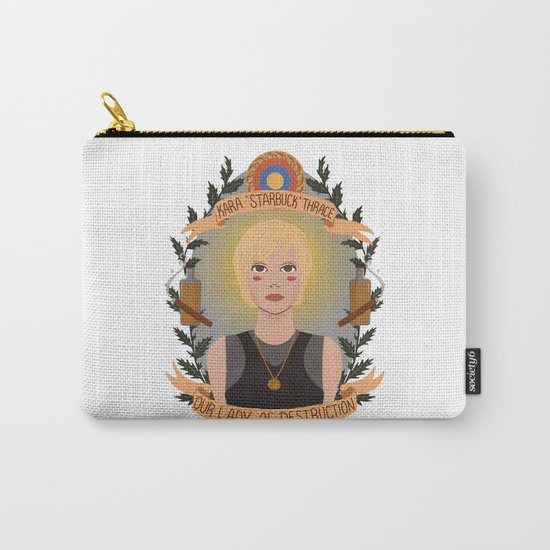 """Kara """"Starbuck"""" Thrace Carry-All Pouch"""