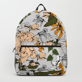 Blooming in autumn II Backpack