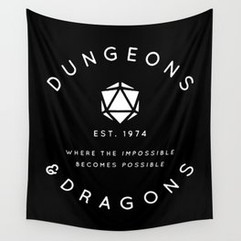 DUNGEONS & DRAGONS - WHERE THE IMPOSSIBLE BECOMES POSSIBLE Wall Tapestry