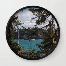 PORTRAIT OF SECRETARY ISLAND PT. II, SOUTH COAST VANCOUVER ISLAND Wall Clock