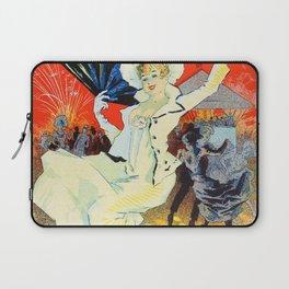 Jules Cheret Champs Elysees Jardin De Paris 1892 Laptop Sleeve