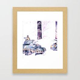 American armor Framed Art Print
