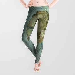 Vincent van Gogh - Self Portrait Leggings